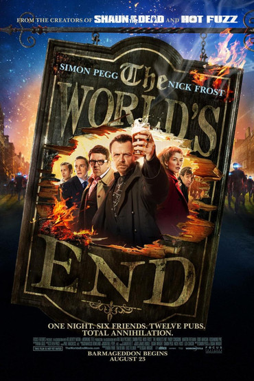 دانلود فیلم دوبله فارسی پایان دنیا The Worlds End 2013